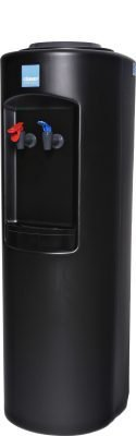 Clover B7A Hot and Cold Bottled Water Cooler Black - Side View