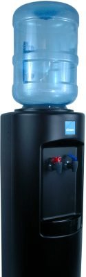 Clover B7A Hot and Cold Bottled Water Cooler Black - Top View