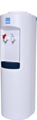 Clover B7A Hot and Cold Bottled Water Dispenser White - Side View