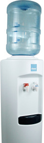 Clover B7A Hot and Cold Bottled Water Dispenser White – Top View
