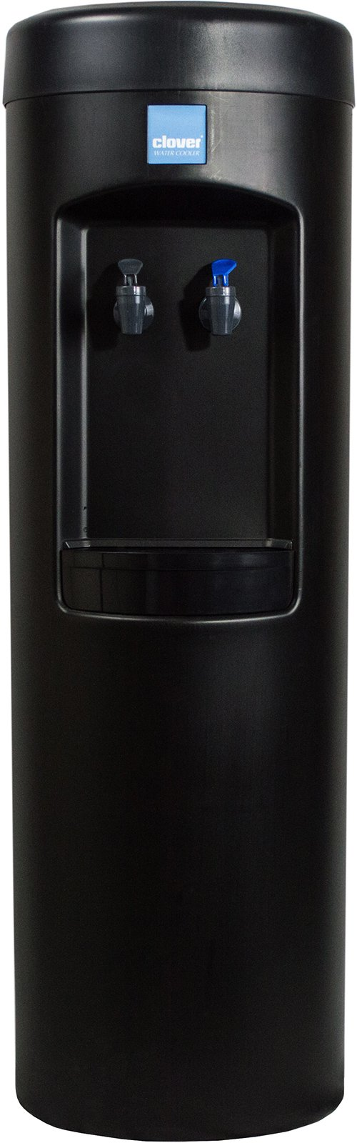 Clover B7B Room Temp and Cold Bottleless Water Dispenser with Conversion Kit (black)