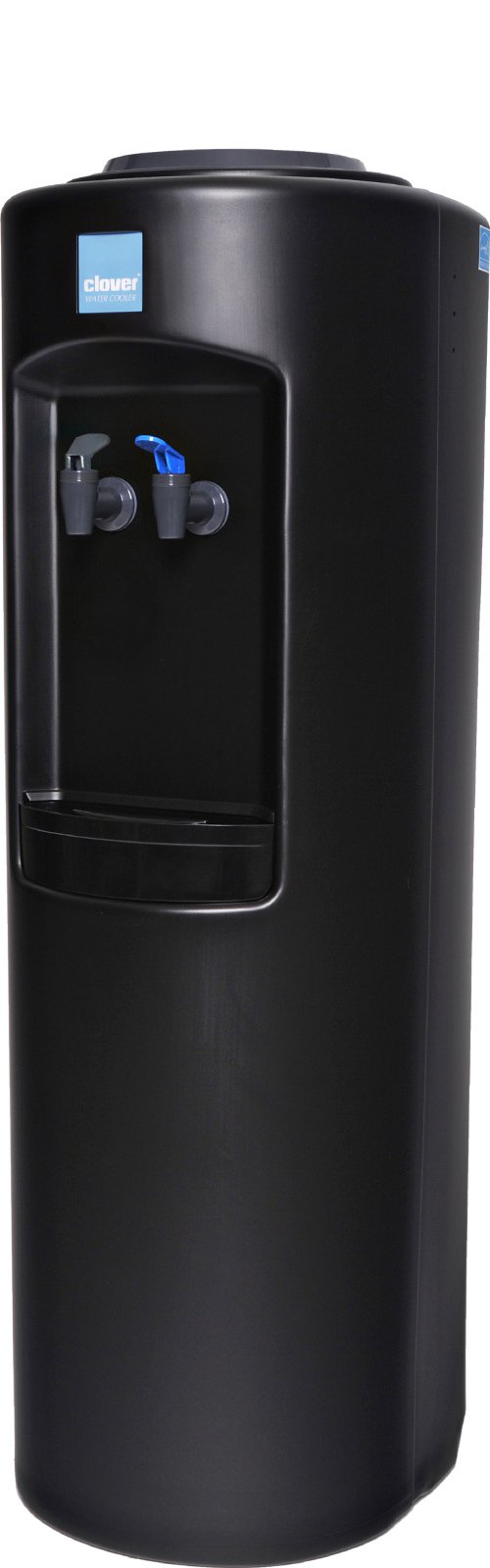 Clover B7B Warm and Cold Water Dispenser Black - Side View