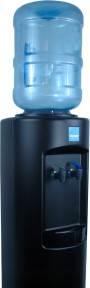 Clover B7B Warm and Cold Water Dispenser Black – Top View